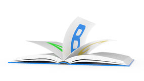 ABC open book Royalty Free Stock Photography
