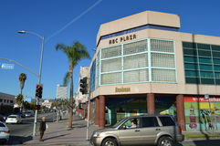 ABC Plaza Koreatown Mall Los Angeles Western Blvd. 2015 Stock Image