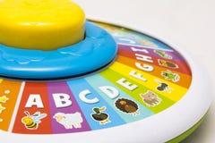 ABC que aprende a roda Imagens de Stock
