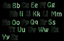 ABCs. Upper annd lower case alphabet Stock Photos