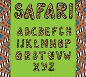 abc safari Fotografia Stock