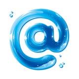 ABC-Serie - email address alias - an Lizenzfreie Stockfotos