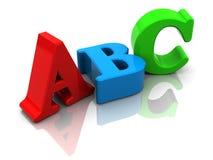 Abc sign Royalty Free Stock Photos
