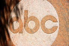 ABC Sign Stock Image