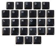 Abc-tangentbord Arkivbild