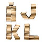 ABC van boeken. Stock Afbeeldingen