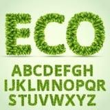 ABC verde Imagens de Stock
