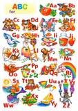 ABC voor kinderen Stock Foto