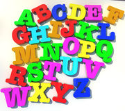 Abcd alphabet Stock Photography