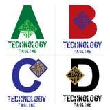 ABCDlogo Fotografia Stock