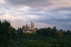 Abchazië, Nieuwe Aphon Klooster Royalty-vrije Stock Foto