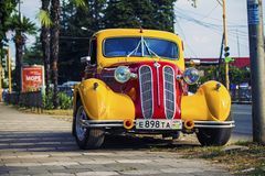 Abchazien bilkonst royaltyfri foto
