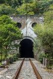 Abchazien nya athos gammal järnväg Arkivfoto