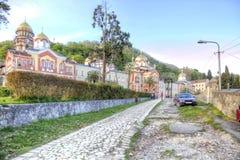 Abchazien Nya Athos Simon trosivrarekloster Arkivbilder