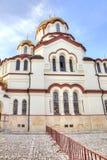 Abchazien Nya Athos Simon trosivrarekloster Royaltyfri Foto