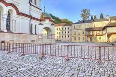 Abchazien Nya Athos Simon trosivrarekloster Arkivbild