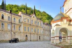 Abchazien Nya Athos Simon trosivrarekloster Royaltyfri Fotografi