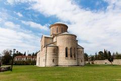 Abchazien Pitsunda, patriark- domkyrka i hedern av aposteln Andrew Fotografering för Bildbyråer