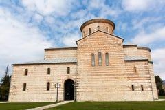 Abchazien Pitsunda, patriark- domkyrka i hedern av aposteln Andrew Royaltyfri Fotografi
