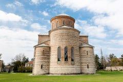 Abchazien Pitsunda, patriark- domkyrka i hedern av aposteln Andrew Arkivfoto