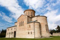 Abchazien Pitsunda, patriark- domkyrka i hedern av aposteln Andrew Royaltyfria Bilder
