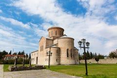 Abchazien Pitsunda, patriark- domkyrka i hedern av aposteln Andrew Royaltyfri Bild