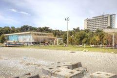 Abchazien Semesterorten Pitsunda Arkivfoto