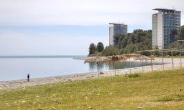 Abchazien Semesterorten Pitsunda Arkivbilder