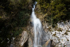Abchazien vattenfallmanrevor Royaltyfria Bilder