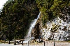 Abchazien vattenfallmanrevor Arkivbild