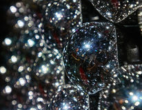 Abcract de las bolas de Chrome Fotografía de archivo libre de regalías