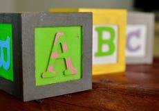 ABCs в цвете стоковые фотографии rf