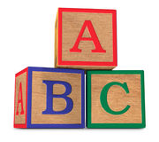 The ABCs Stock Photo