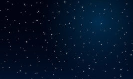 The abctract night the starry sky. Vector Royalty Free Illustration