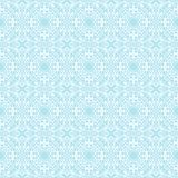 Abctract openwork pattern. White abstract outline pattern on a blue background royalty free illustration