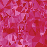 Abctract pink background. Illustration with abstract polygonal pink background royalty free illustration