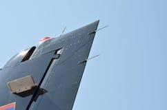 Abdeckstreifen des Flugzeuges stockfotos