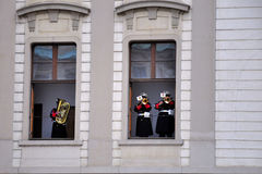 Abdeckung der Ehre des Prag-Schlosses Stockbilder