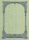 Abdeckung eines alten Buches. Lizenzfreies Stockbild