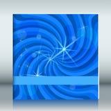 Abdeckung-Seite-Schablone-Broschüre-Hintergrund-Turbulenz-Stern Stockfotos