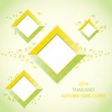 ABDECKUNG THAILANDS AUTUMN TONE Lizenzfreie Stockfotos