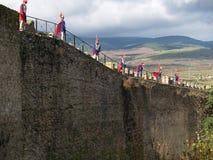 Abdeckungen der Festung Stockbild