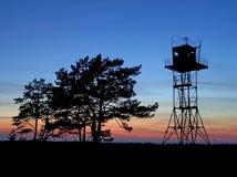 Abdeckungkontrollturm Stockfotografie