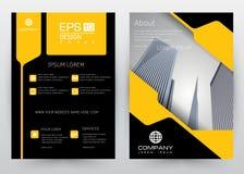 Abdeckungs-Design-Vektorschablone gesetzte Broschüre, Jahresbericht, Zeitschrift, Plakat, Unternehmensdarstellung, Portfolio, Fli Stockfotos