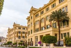 Abdeen宫殿,埃及的总统的住所 免版税图库摄影