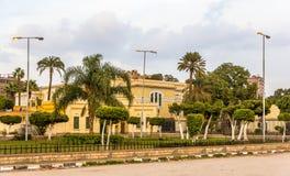 Abdeen宫殿,埃及的总统的住所 库存图片