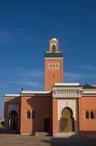 abdel aziz laayoune清真寺西部moulay的撒哈拉大沙漠 库存图片