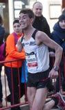 Abderraman khamouch, Mitja Marato Granollers Royaltyfri Fotografi