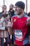 Abderraman khamouch, Mitja Marato Granollers Royaltyfri Foto