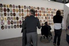 abdessemed france paris för konstkonstfiac show Royaltyfria Bilder